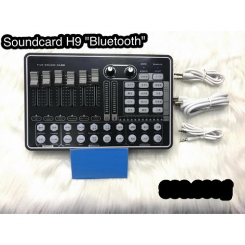 SOUNDCARD LIVESTREAM H9 CÓ BLUETOOTH